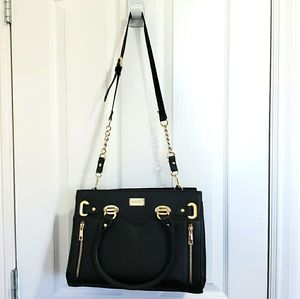 Ever New Faux Leather Satchel Crossbody Bag